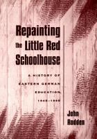 Repainting the Little Red Schoolhouse PDF
