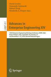 Advances in Enterprise Engineering XIV PDF