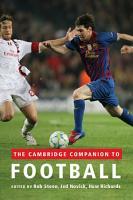 The Cambridge Companion to Football PDF