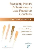 Educating Health Professionals in Low Resource Countries PDF