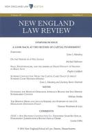 New England Law Review  Volume 48  Number 4   Summer 2014 PDF