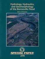 Hydrology  Hydraulics  and Geomorphology of the Bonneville Flood PDF