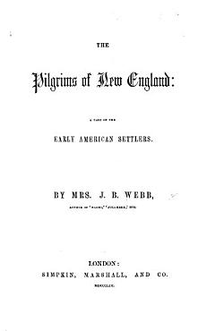The Pilgrims of New England  a Tale of the Early American Settlers PDF