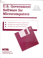U S  Government Software for Microcomputers PDF