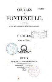 Oeuvres de Fontenelle, précédées d'une notice historique sur sa vie et ses ouvrages...