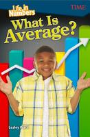 Life in Numbers  What Is Average   Read along ebook PDF