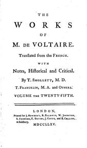 The Works of M. de Voltaire: The tales of William Vadé