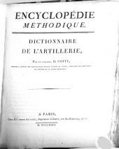 Dictionnaire de l'artillerie