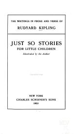 The writings in prose and verse of Rudyard Kipling: Volume 20