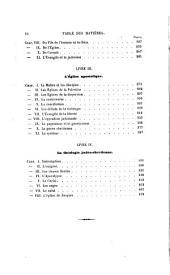 Histoire de la théologie chrétienne au siècle apostolique: Volume1