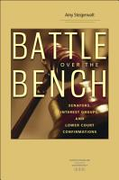 Battle over the Bench PDF
