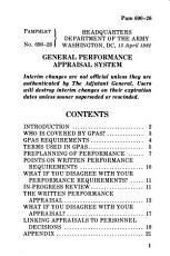 General Performance Appraisal System PDF