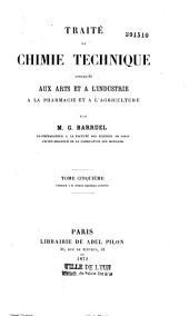 Traité de chimie technique appliqué aux arts et à l'industrie