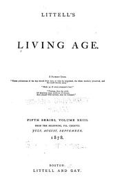 Littell's Living Age: Volume 138