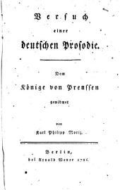 Versuch einer deutschen Prosodie