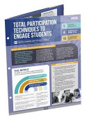 Total Participation Techniques to Engage Students  Quick Reference Guide   25 Pack  Book