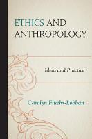 Ethics and Anthropology PDF