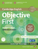 Objective First for Spanish Speakers Student s Pack with Answers  Student s Book with CD ROM  Workbook with Audio CD  PDF
