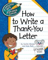 How to Write a Thank You Letter PDF
