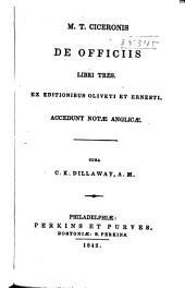 M. T. Ciceronis De officiis: libri tres