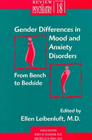 Gender Differences in Mood and Anxiety Disorders PDF