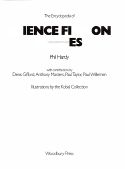 The Encyclopedia of Science Fiction Movies PDF