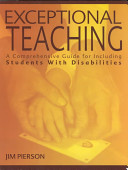 Exceptional Teaching Book