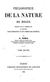 Philosophie de la nature de Hegel: Volume2