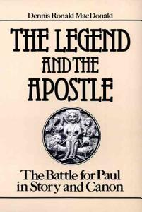 The Legend and the Apostle Book