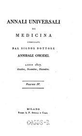 Annali di medicina straniera, compilati da A(nnibale) Omodei: Volume 8