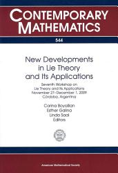 New Developments In Lie Theory And Its Applications Book PDF