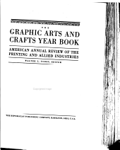 The Graphic Arts and Crafts Year Book: American Annual Review of the Printing and Allied Industries, Volume 5