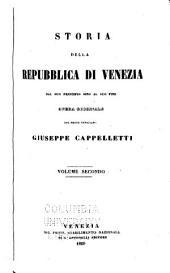 Storia della repubblica di Venezia dal suo principio sino al giorno d'oggi: Volumi 2-3