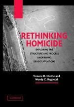 Rethinking Homicide