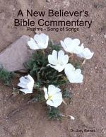 A New Believer's Bible Commentary: Psalms - Song of Songs