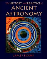 The History and Practice of Ancient Astronomy PDF