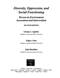 Diversity  Oppression  and Social Functioning PDF