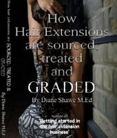How Hair Extensions are Sourced, Treated and Graded
