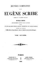 Œuvres complètes de Eugène Scribe: Volume2