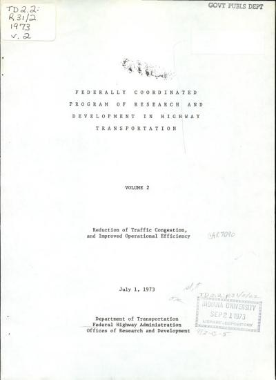 Reduction of traffic congestion  and improved operational efficiency PDF