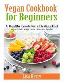 Vegan Cook Book for Beginners PDF