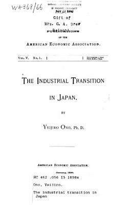 The Industrial Transition in Japan PDF