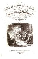German popular stories  tr   and ed  by E  Taylor  from the Kinder und Haus M  rchen  collected by m m  Grimm PDF