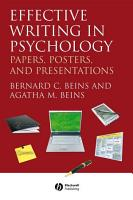 Effective Writing in Psychology PDF