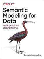 Semantic Modeling for Data PDF