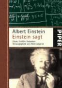 Einstein sagt PDF