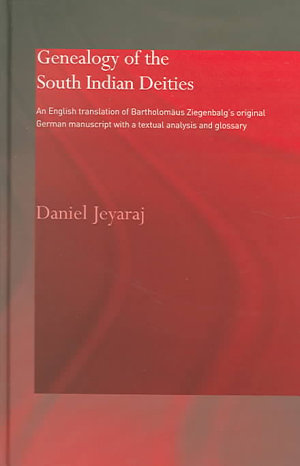 Genealogy of the South Indian Deities