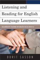 Listening and Reading for English Language Learners PDF