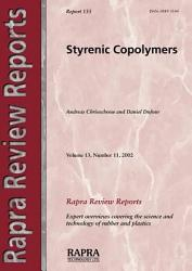 Styrenic Copolymers Book PDF