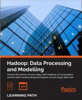 Hadoop  Data Processing and Modelling PDF